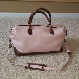Latico leather weekender bag/duffle